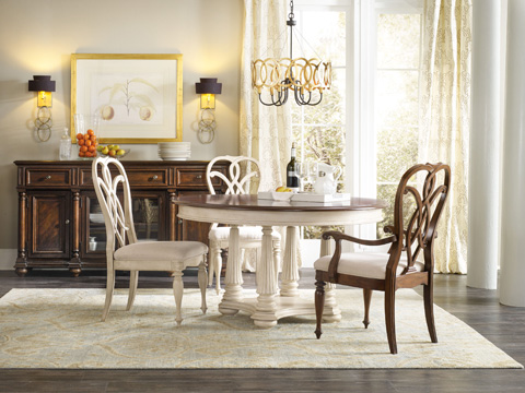 Hooker Furniture - Leesburg Round Dining Table - 5481-75201