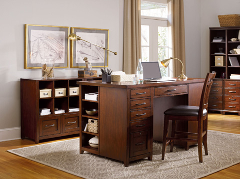 Hooker Furniture - Wendover Utility Desk - 1037-11306