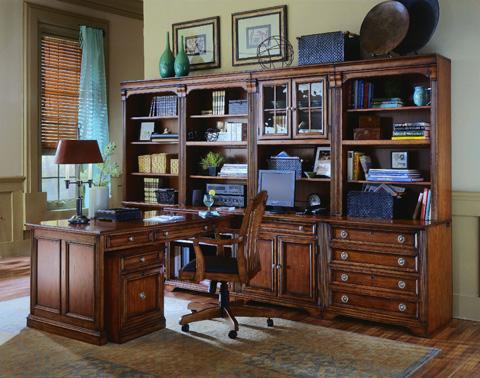 Hooker Furniture - Brookhaven Peninsula Desk - 281-10-411