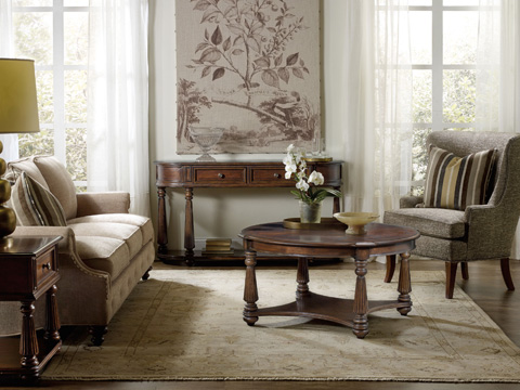 Hooker Furniture - Leesburg Demilune Hall Console - 5381-80151