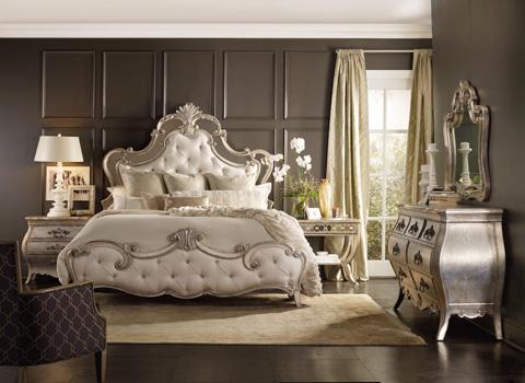 Hooker Furniture - Sanctuary King Upholstered Bed - 5413-90866