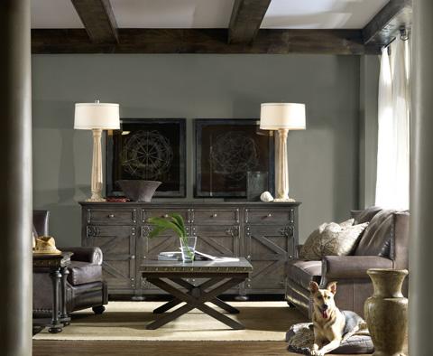 Hooker Furniture - Vintage West X-Base Cocktail Table - 5700-80110