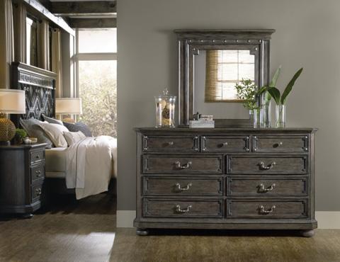 Hooker Furniture - Vintage West Nine-Drawer Dresser - 5700-90002