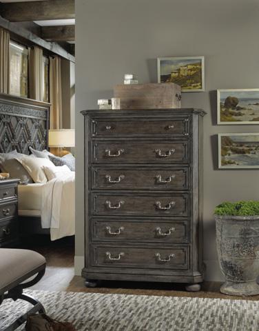 Hooker Furniture - Vintage West Six-Drawer Chest - 5700-90010