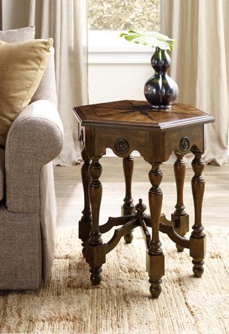 Hooker Furniture - Archivist Hexagon Accent Table - 5447-50002