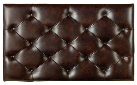 Hooker Furniture - Archivist Accent Ottoman - 5447-85005A-TOFFEE