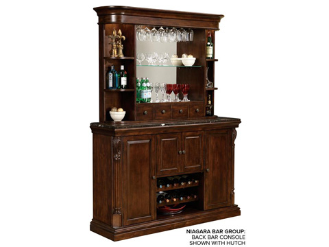 Howard Miller Clock Co. - Niagara Bar Console - 693-006