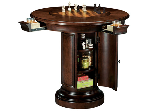 Howard Miller Clock Co. - Ithaca Pub and Game Table - 699-010