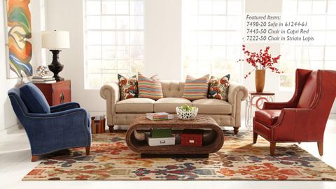 Huntington House - Accent Chair - 7449-50