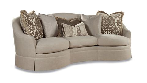 Huntington House - Arm Chair with Nailhead Trim - 7451-50