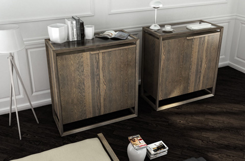Huppe - Three Drawer Dresser - 009235