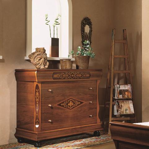 Hurtado - Dresser and Mirror - 002214