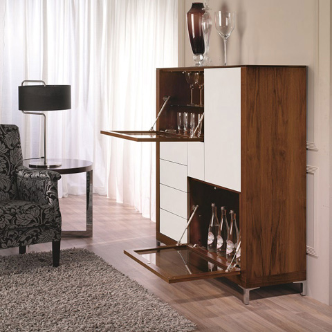 Hurtado - Bookcase with Doors - 304955