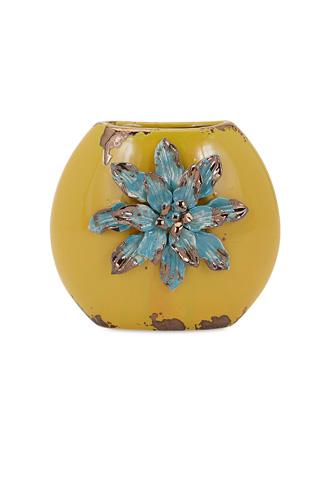 IMAX Worldwide Home - Kimber Short Flower Vase - 25305