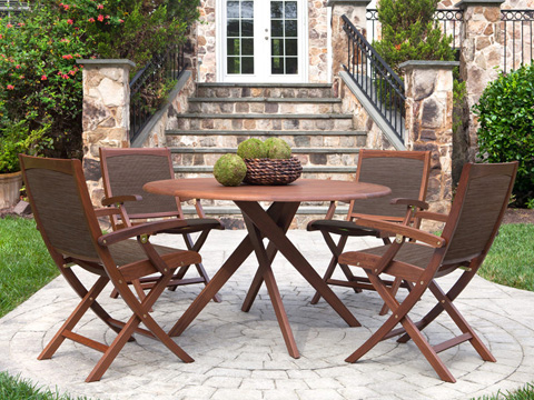 Jensen Leisure Furniture - Topaz Round Dining Table - 6499