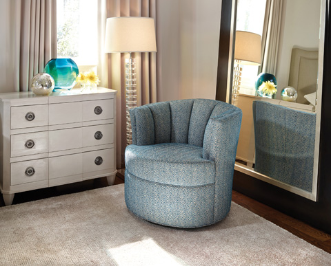 Jessica Charles - Jude Swivel Chair - 5165-S