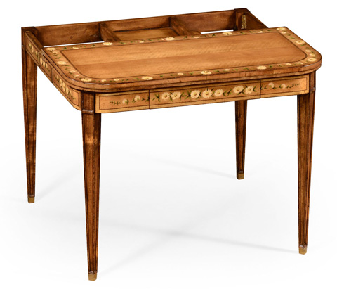 Jonathan Charles - Painted Card Table - 492146