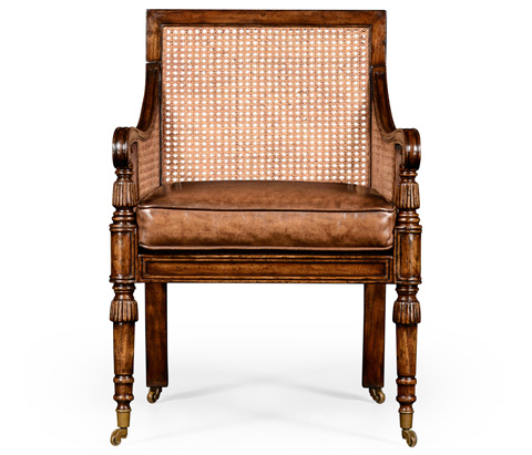 Jonathan Charles - Caned Bergere Chair - 492269
