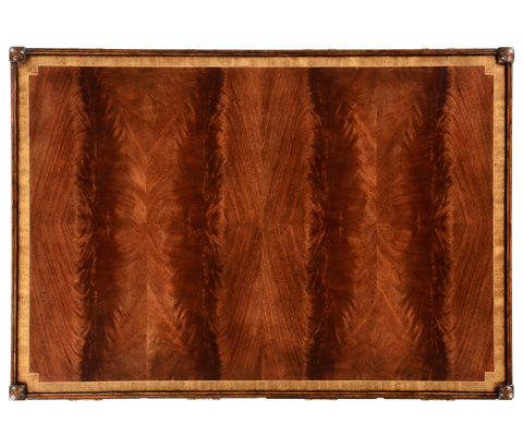 Jonathan Charles - Rectangular Regency Style Mahogany Coffee Table - 492457