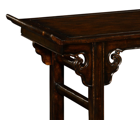 Jonathan Charles - Classical Chinese Tall Console - 492786