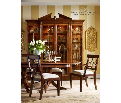 Jonathan Charles - Pair of Gilt Renaissance Style Panels - 493391
