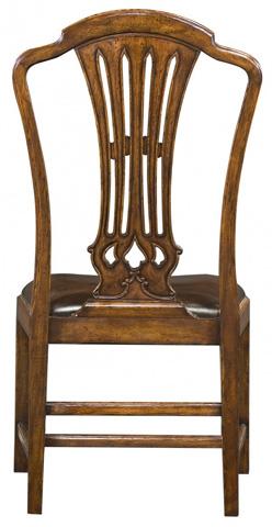Jonathan Charles - Mahogany Pierced Splat Back Chair - 493400