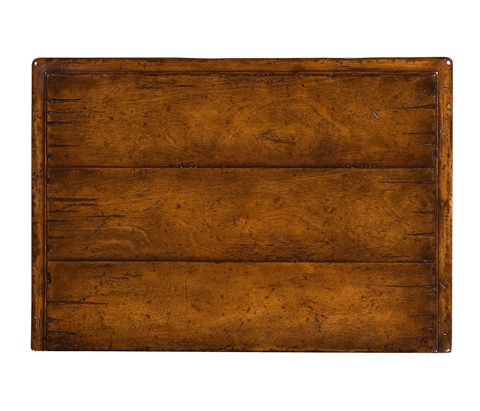 Jonathan Charles - Tudor Style Walnut Chest of Four Drawers - 493472