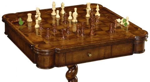 Jonathan Charles - Oyster Veneer Games Table - 493501