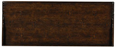 Jonathan Charles - Tudor Style Dark Oak Cabinet - 493597