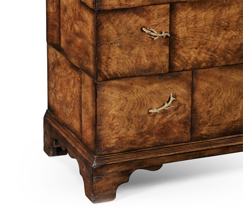 Jonathan Charles - Rustic Chest of Four Drawers - 493902