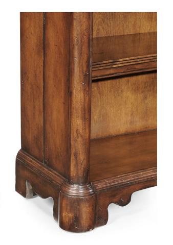 Jonathan Charles - Walnut Low Open Bookcase - 493917
