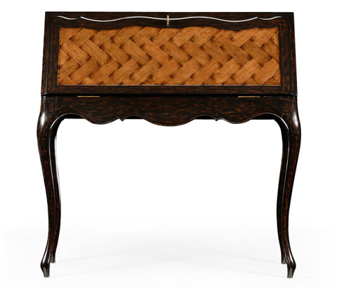 Jonathan Charles - French Style Bureau with Parquet Fall Front - 494278