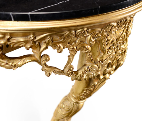 Jonathan Charles - Carved and Gilded Wall Bracket Console - 494409