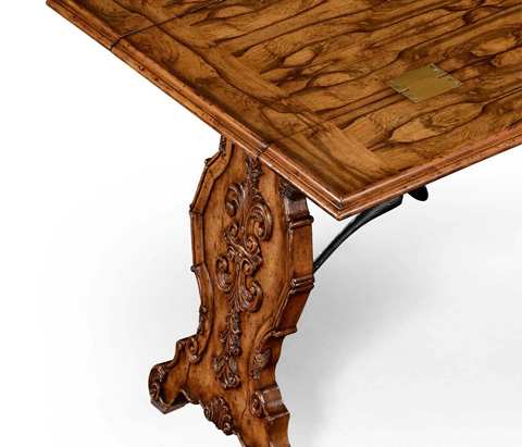 Jonathan Charles - Portuguese Hunt Style Dining Table - 494472