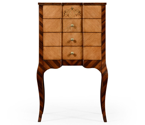 Jonathan Charles - Rosewood And Satinwood Dressing Chest - 494693