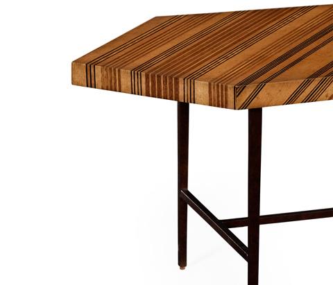 Jonathan Charles - Satinwood Necktie Coffee Table - 494785