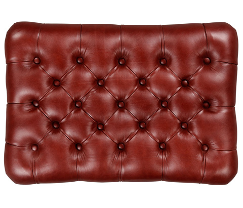 Jonathan Charles - Large Chesterfield Style Footstool - 494810