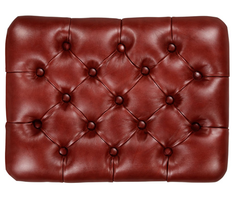 Jonathan Charles - Small Chesterfield Style Footstool - 494811