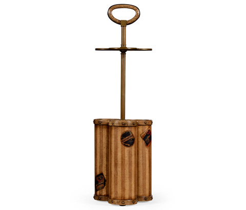 Jonathan Charles - Travel Trunk Style Umbrella Stand - 494819