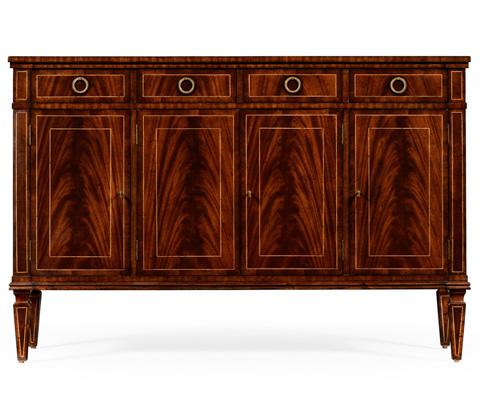 Jonathan Charles - Regency Style Mahogany Sideboard with Four Doors - 494842