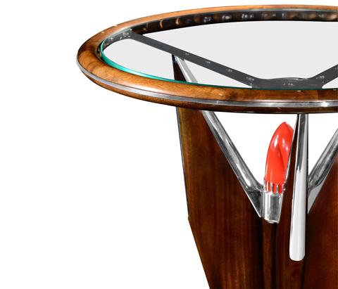 Jonathan Charles - Tailfin Side Table - 494979