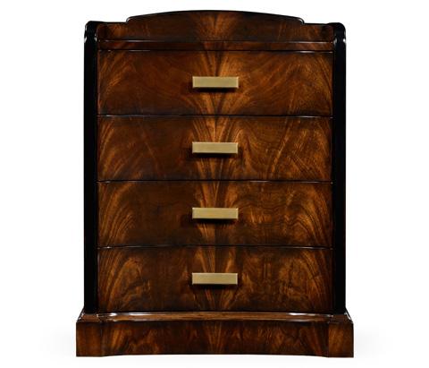 Jonathan Charles - Biedermeier Style Mahogany Bedside Chest - 495003