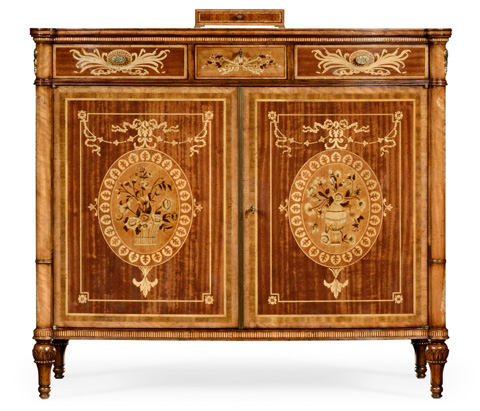 Jonathan Charles - Fine Mahogany Side Cabinet - 495214