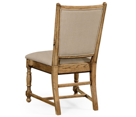 Jonathan Charles - Natural Oak Country Side Chair - 493324-L