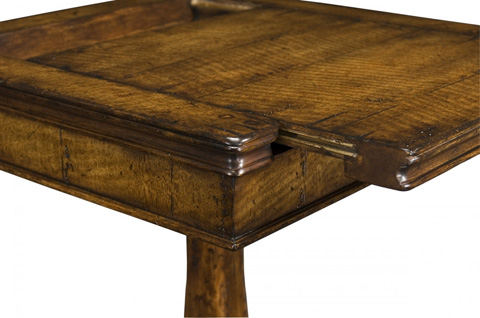Jonathan Charles - Walnut Box On Stand - 493424
