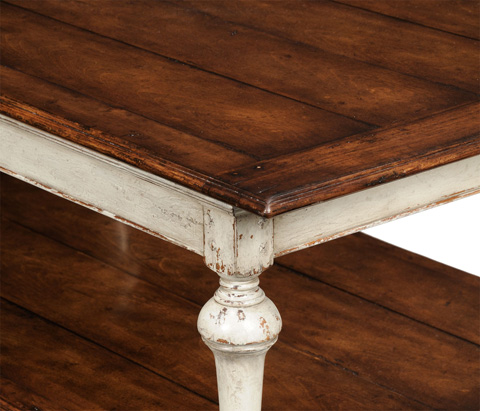 Jonathan Charles - Rub-Through Coffee Table - 493868