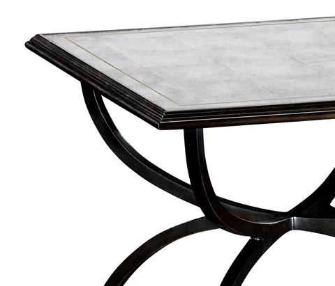 Jonathan Charles - Bronze Iron Set Two Tables - 494188-B