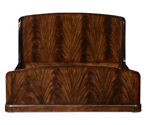 Jonathan Charles - Mahogany Biedermeier Bed - 494878