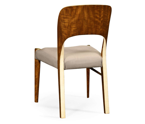 Jonathan Charles - Hyedua And Ivory Finish Side Chair - 494907-CO1