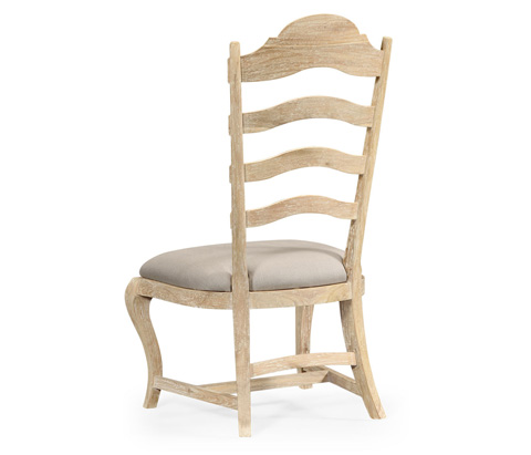 Jonathan Charles - Limed Acacia Dining Side Chair - 495293-SC-LMA